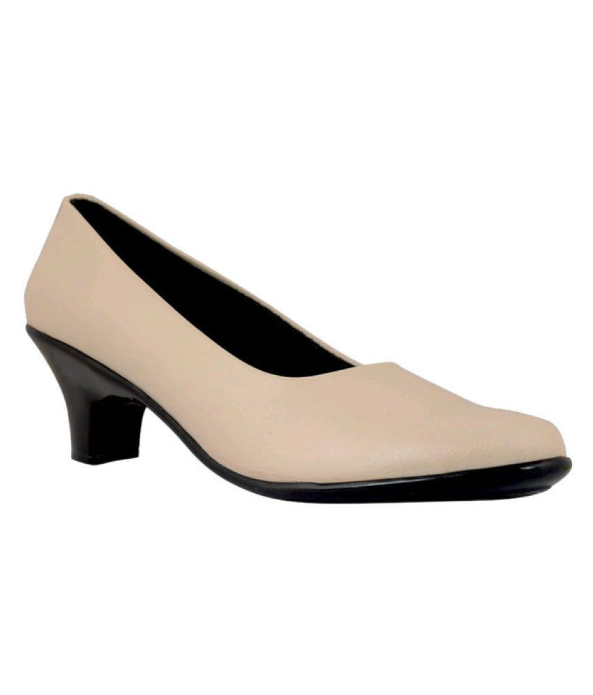 9Space Beige Formal Shoes
