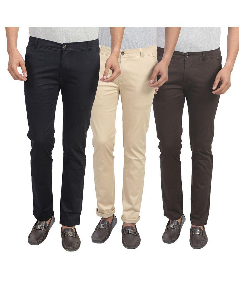 X-Cross Multi Slim Flat Trouser