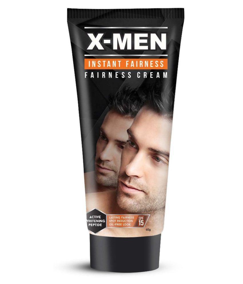 x men instant fairness cream spf 15 day cream 60 gm buy x men