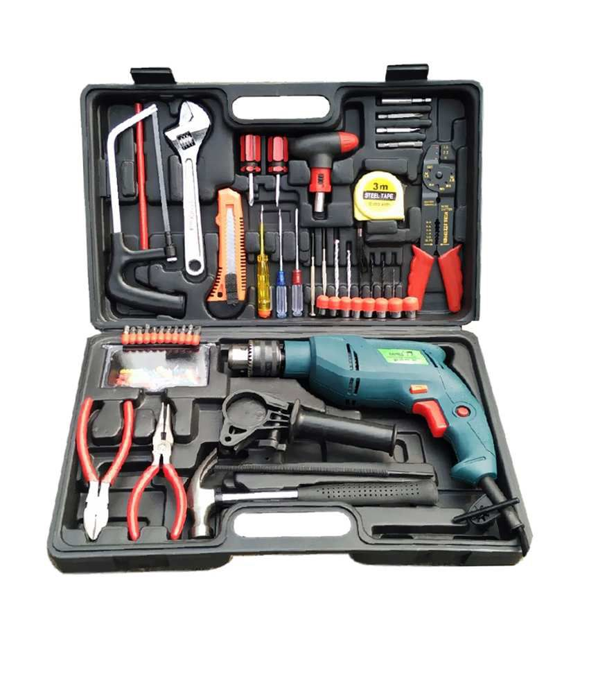 Camel 13 mm 850W Impact Drill Machine Kit (With 102 Accessories)