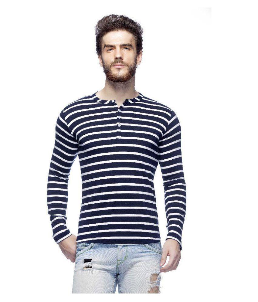 Tinted Multi Henley T-Shirt