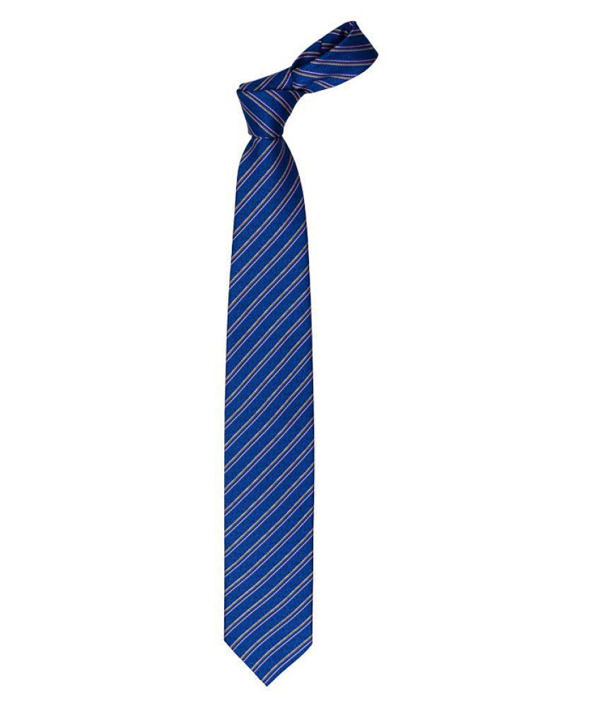 Vermello Blue Casual Necktie