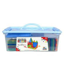 Flying Start Magna Tiles 96 Pieces Building Blocks Learning And Educational Contruction Toys For Kids