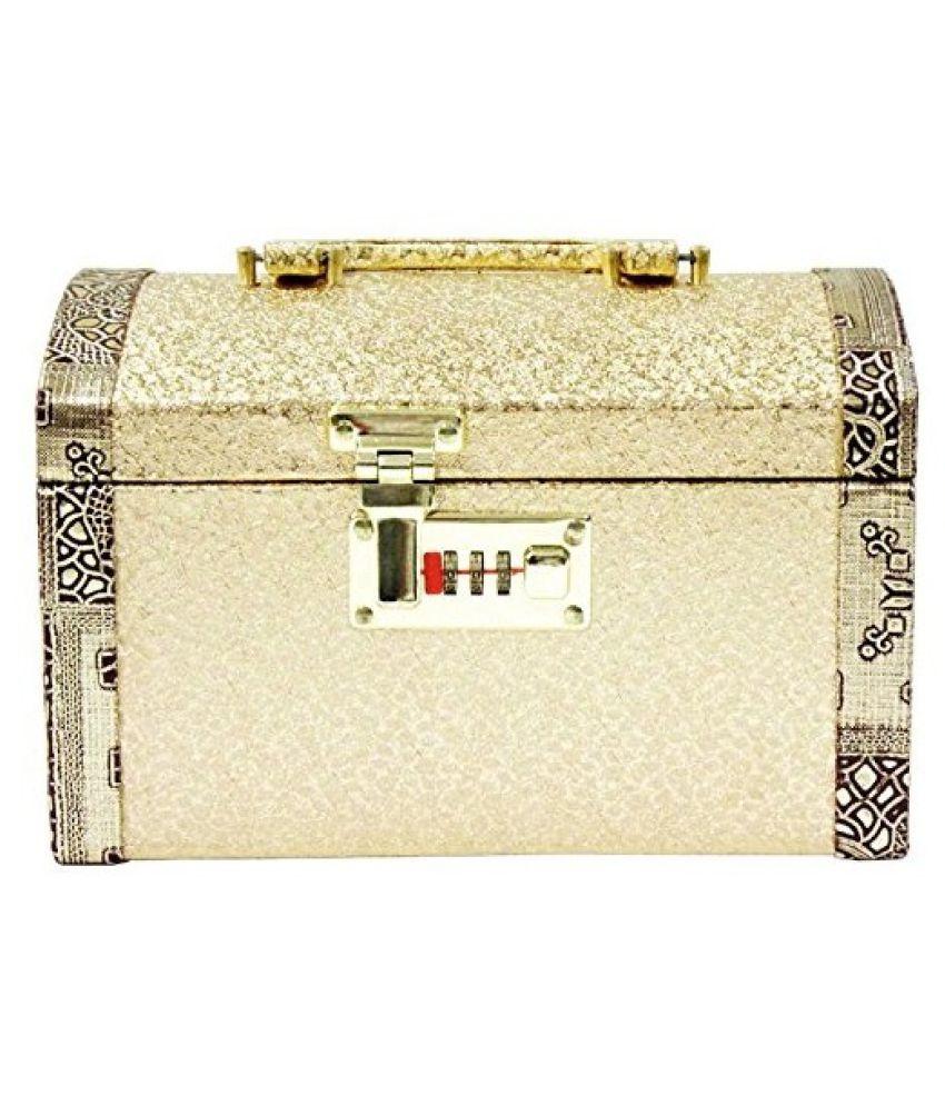 Jillian Vanity Box - Golden