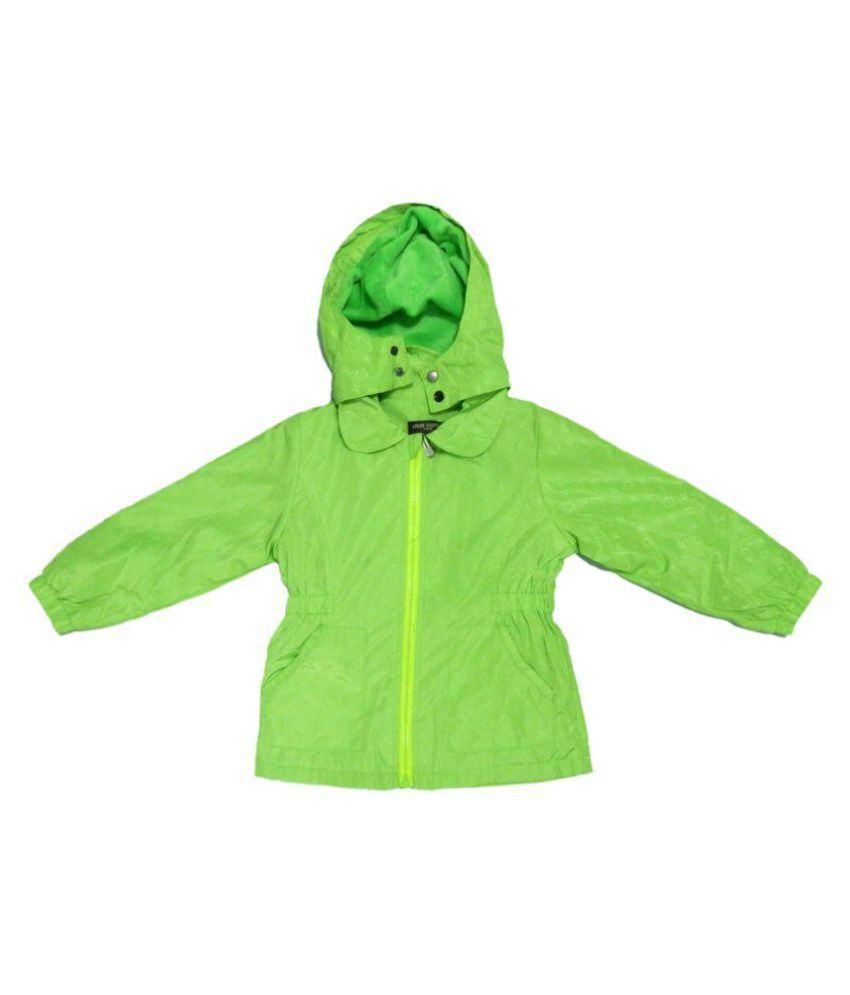 LV Neon Green Velvet Light Weight Jacket Single