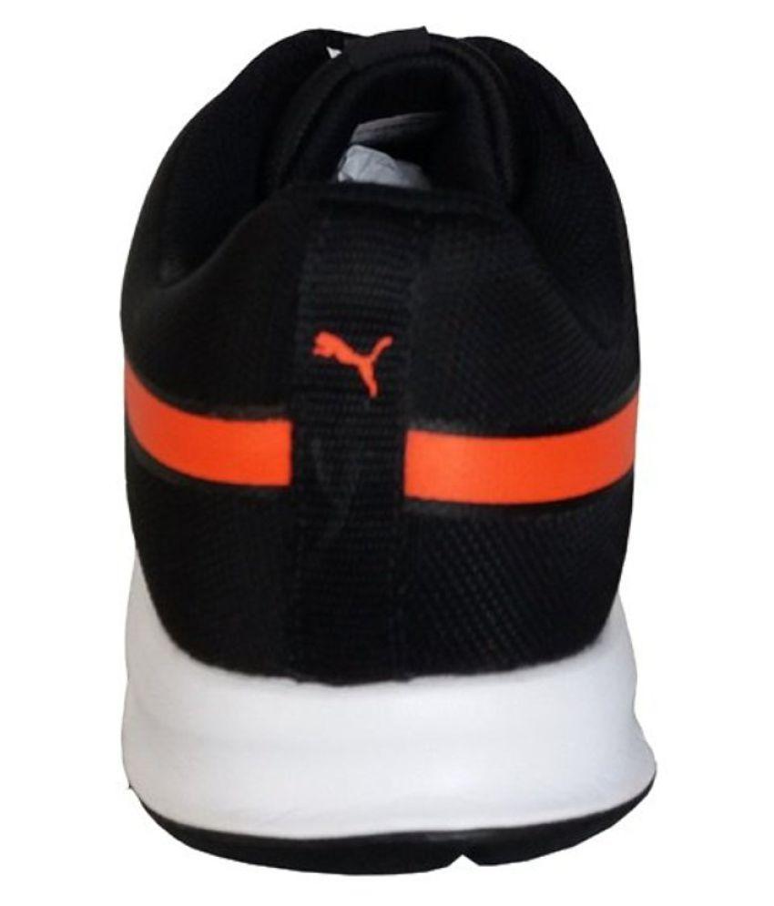 puma flexracer dp black running shoes - buy puma flexracer dp black