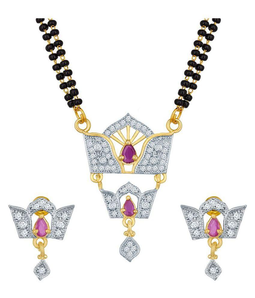 The Luxor Multicolour Mangalsutra Set