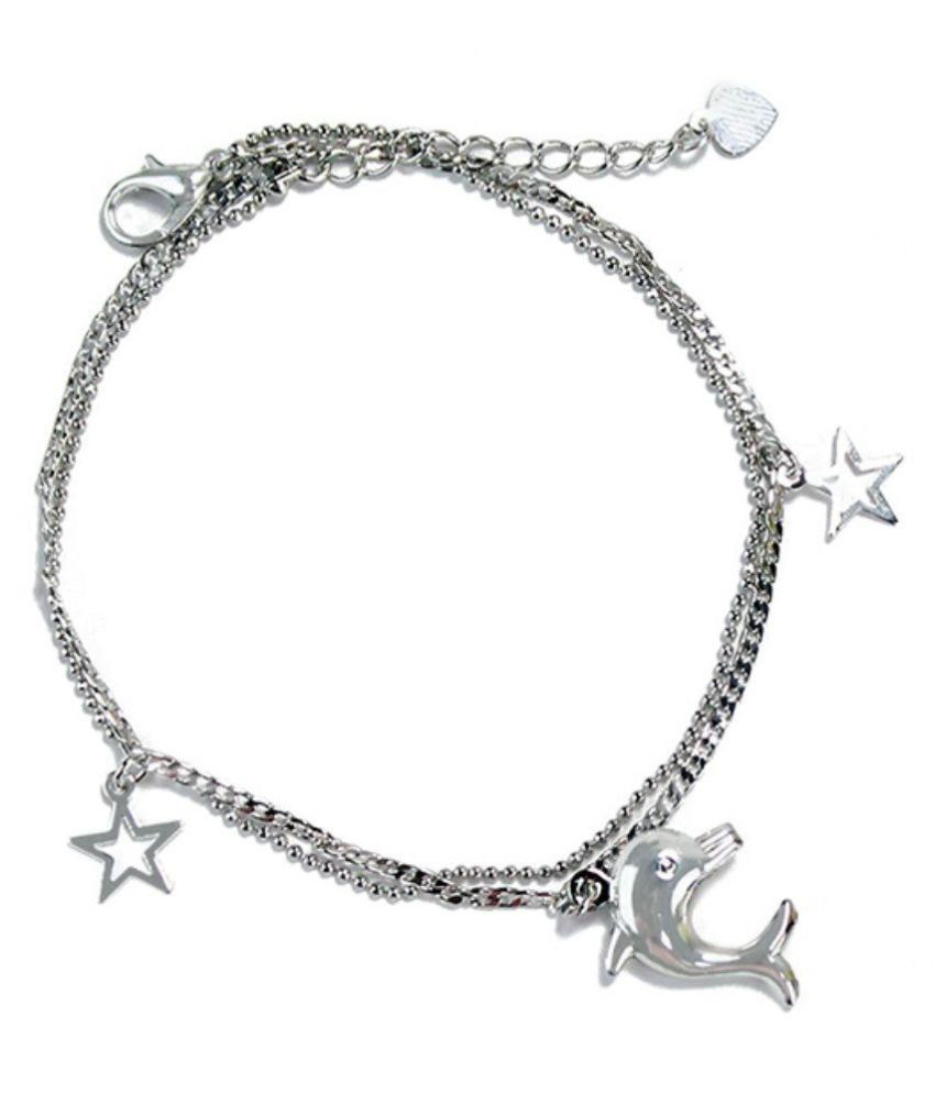 Archies Silver Anklet