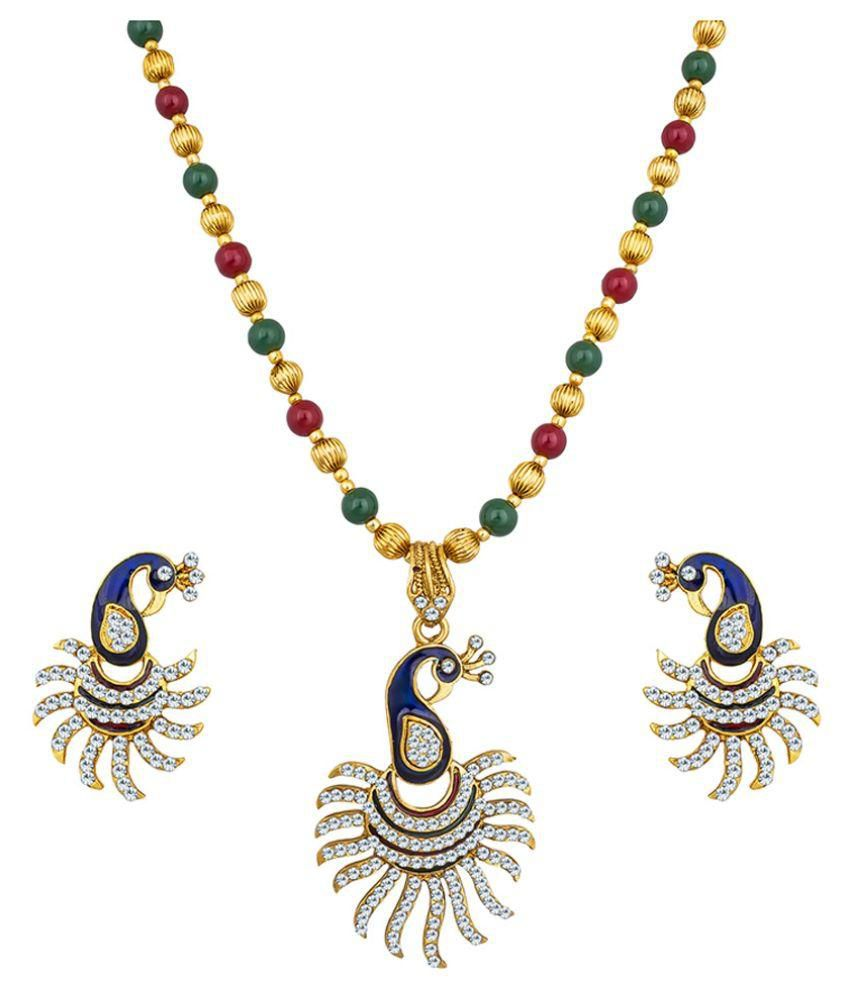 The Luxor Multicolour Necklace Set