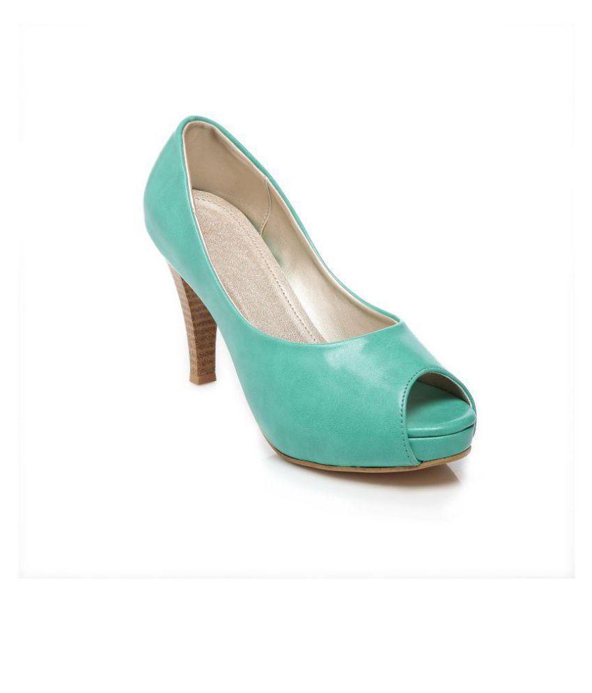 Feet N Knots Turquoise Stiletto Heels
