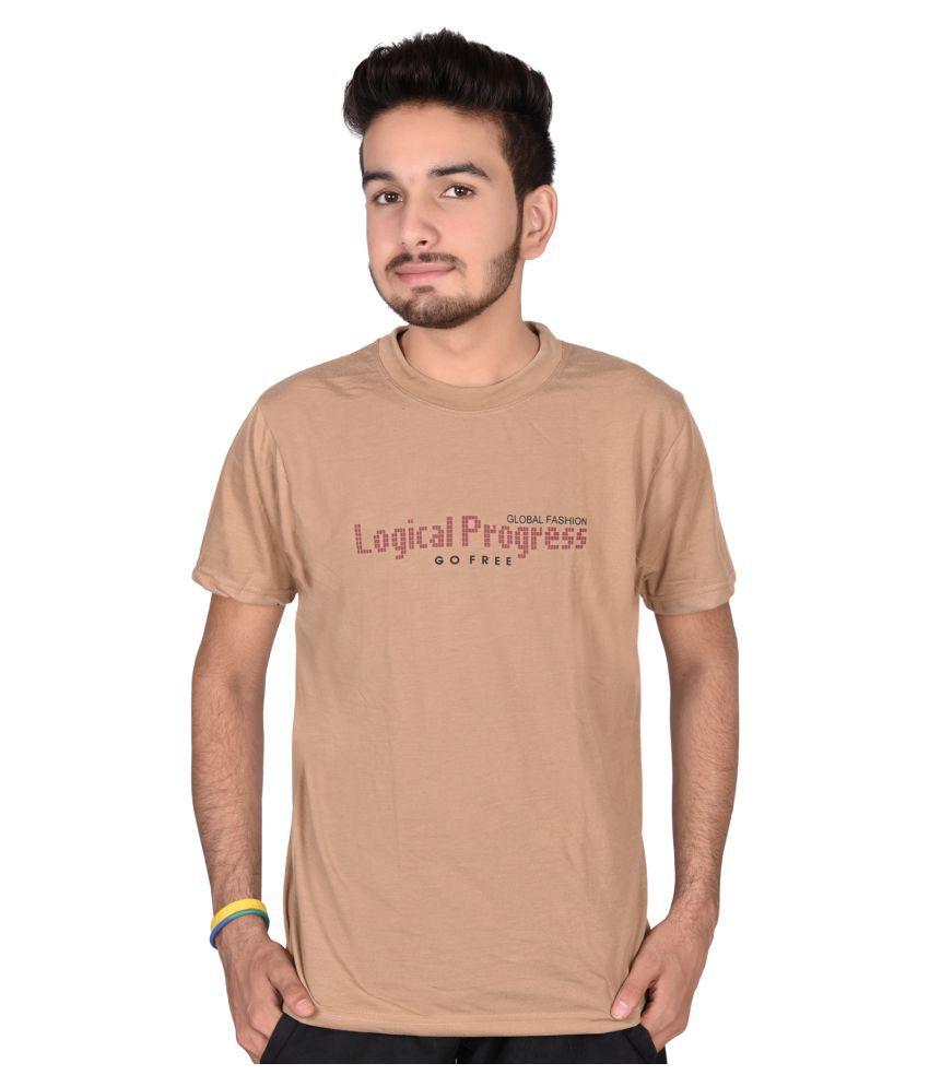 Magnus Beige Round T-Shirt