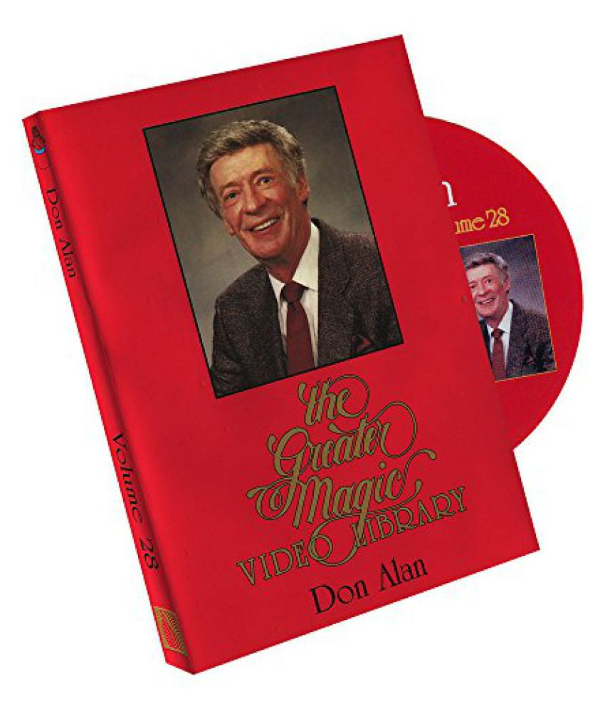 MMS Greater Magic Video Library Volume 28 Don Alan DVD - Buy MMS Greater Magic Video Library Volume 28 Don Alan DVD Online at Low Price - Snapdeal