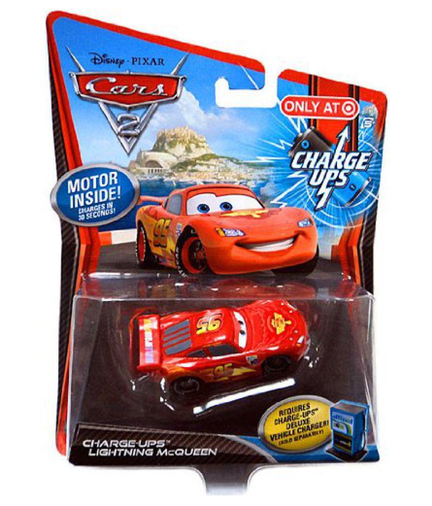 Disney Pixar Cars 2 Movie 155 Exclusive Charge Ups Car Lightning