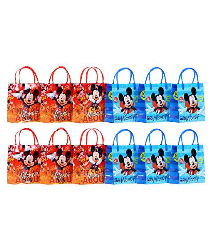 NEW Disney Mickey Mouse Party Favor Goodie Gift Bag