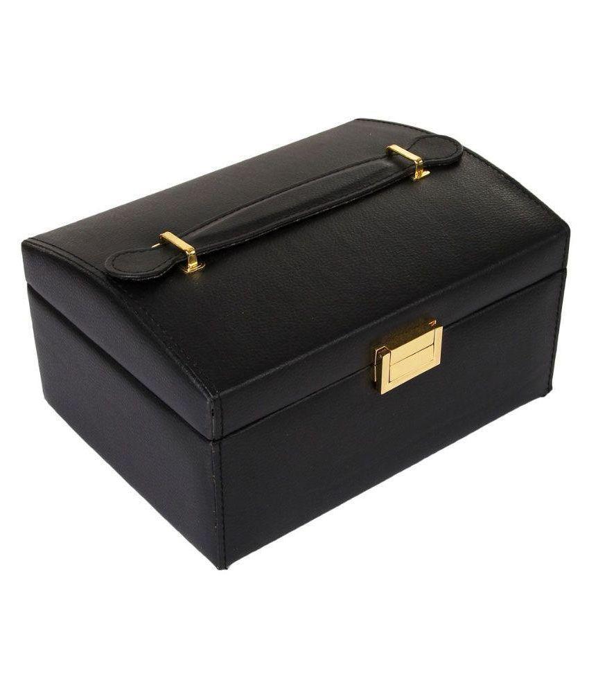 Uberlyfe Black Jewellery Box