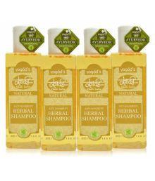 Khadi Herbals Anti-Dandruff Shampoo 4 Ml Pack Of 4