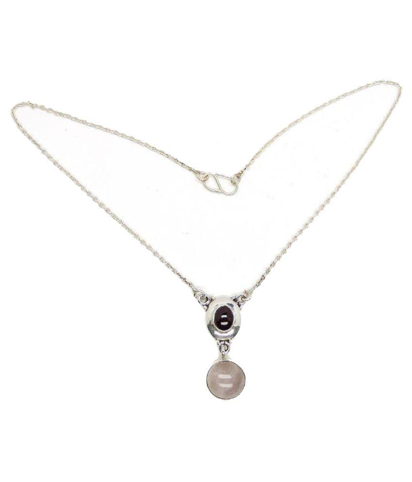 Allnonly 92.5 Silver Necklace
