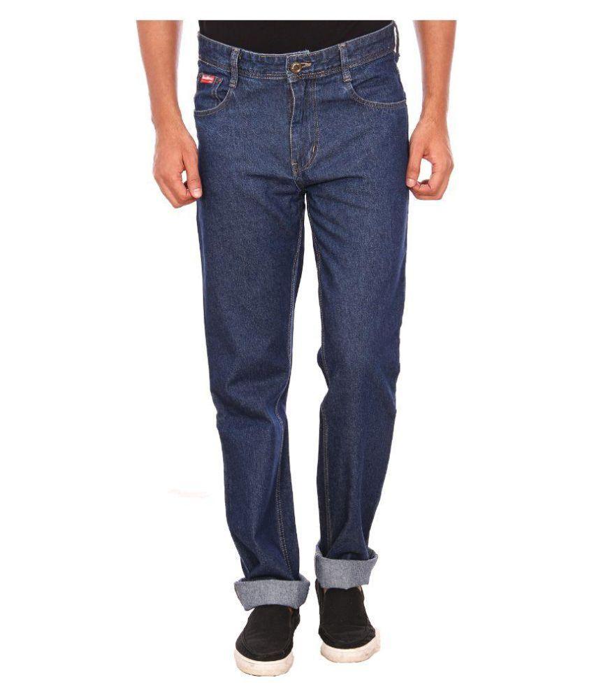 Red River Original Straight Jeans - Dark Rinse Blue