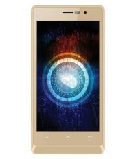 UNBOXED Intex Aqua Secure 4G with Fingerprint Scanner (8GB Champagne)