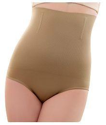 Piftif Beige Cotton Lycra Tummy Tucker Shapewear