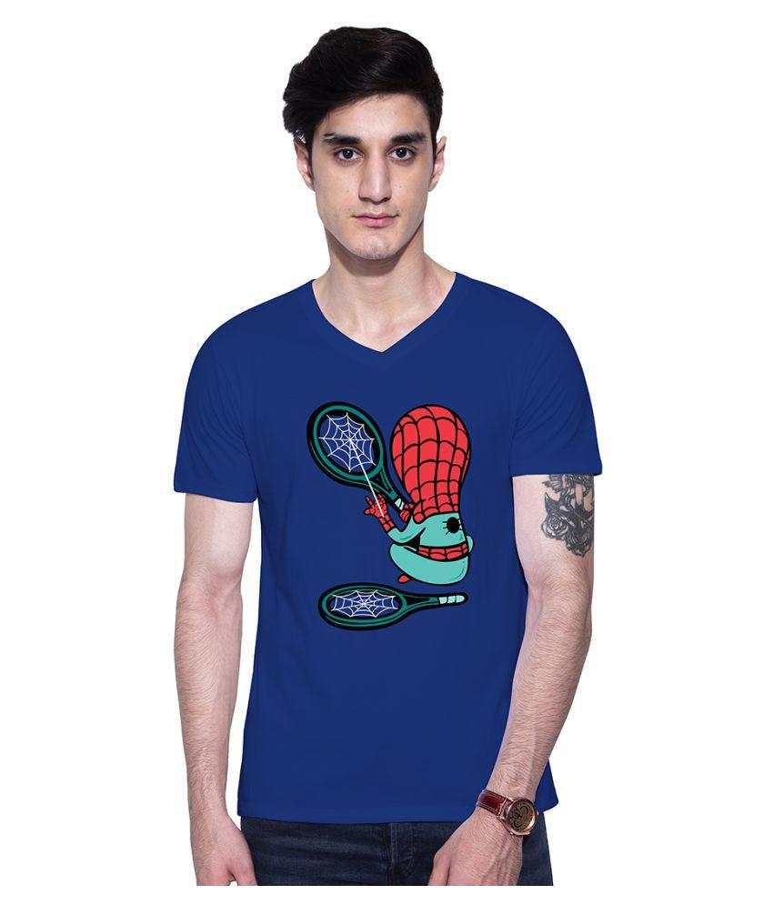 Uptown 18 Blue V-Neck T-Shirt
