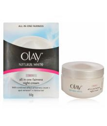 Olay Imported (Imported) Natural White Rich All In One Fairness Night Cream 50 G With