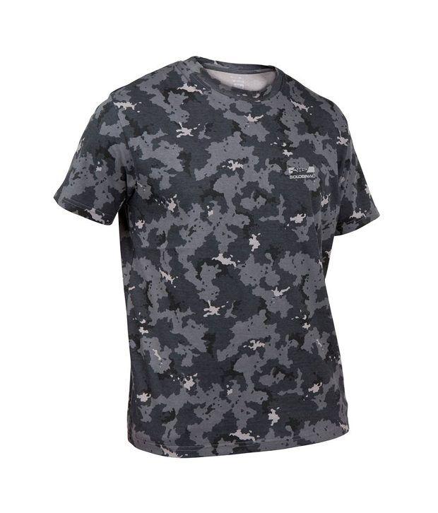 SOLOGNAC Steppe 100 T-Shirt Island Black