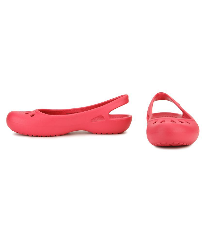 96855e6cc Crocs Red Ballerinas Relaxed Fit Crocs Red Ballerinas Relaxed Fit ...
