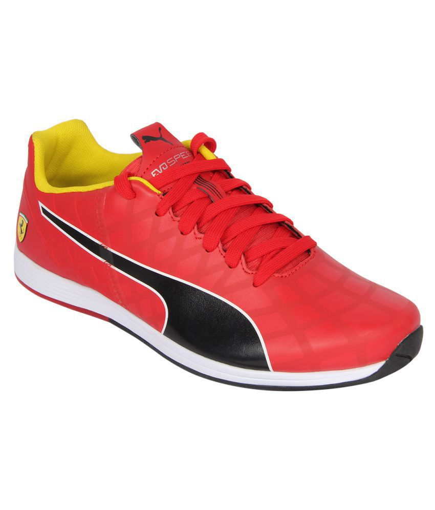 Comida sana Nueva Zelanda pacífico  Puma evoSPEED 1.4 SF NM Sneakers Red Casual Shoes - Buy Puma evoSPEED 1.4 SF  NM Sneakers Red Casual Shoes Online at Best Prices in India on Snapdeal