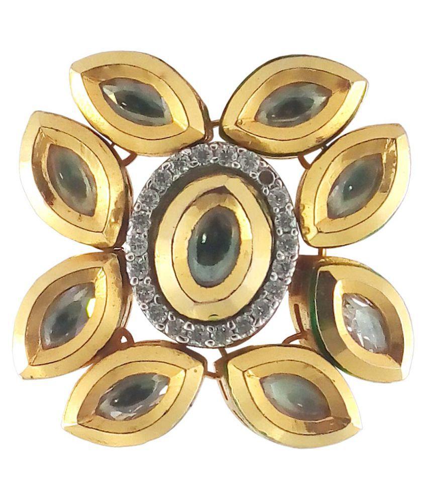 Rejewel Golden Antique Ring