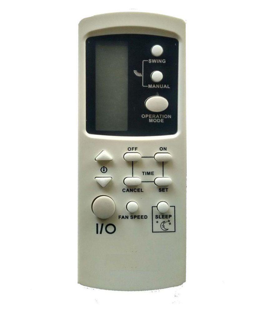 Loahay voltas/onida split/window ac remote control (white): amazon.
