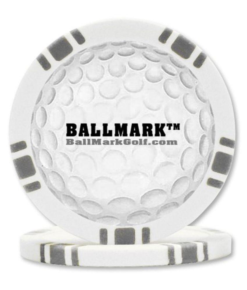 Trademark Ball Mark-Trendy and New-Poker Chip Golf Ball Marker