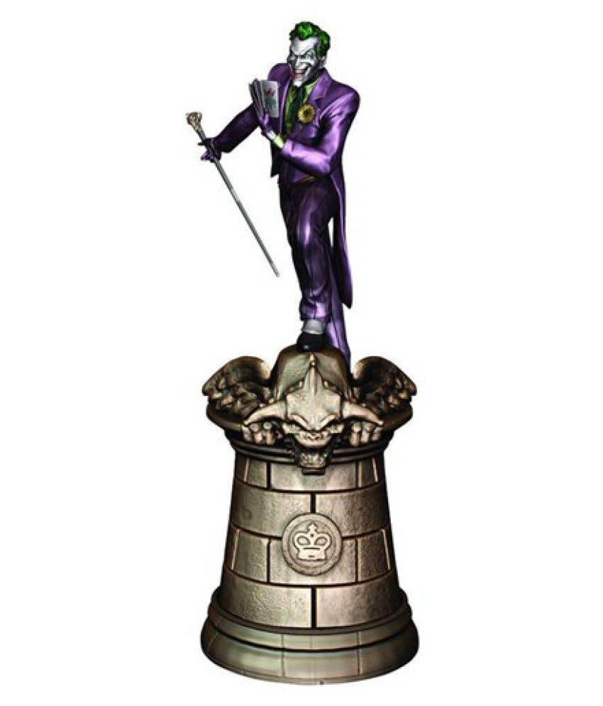 Dc Superhero Chess Collection Magazine #2 Joker Black King