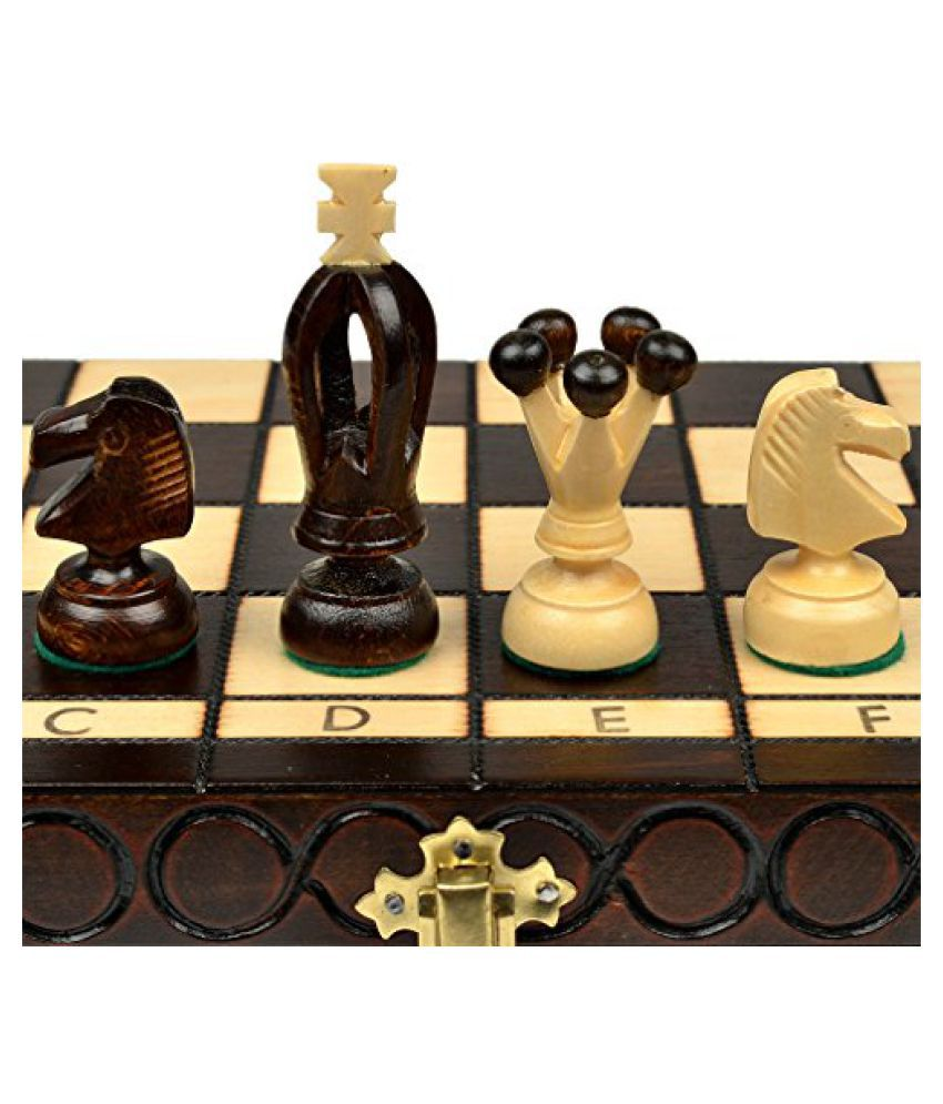 King''s Inch European International Chess Set - 14.2