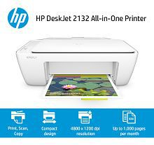HP DeskJet 2132 AiO Printer