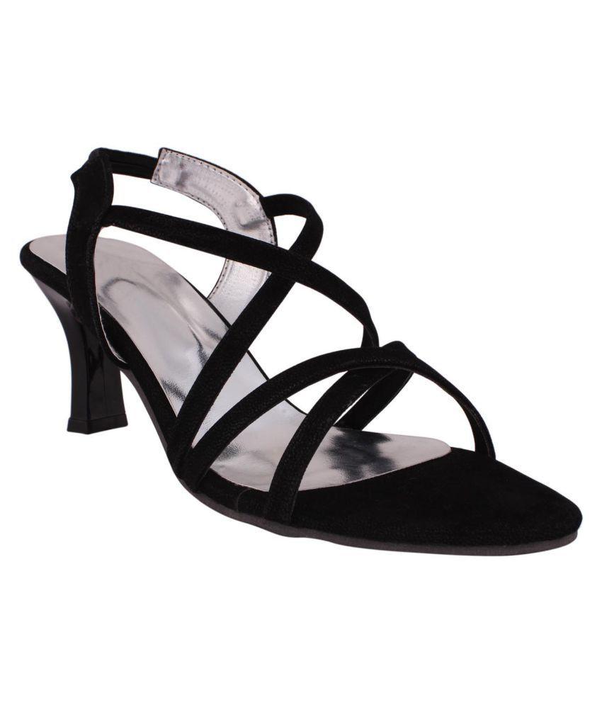 Foot Love Black Kitten Heels