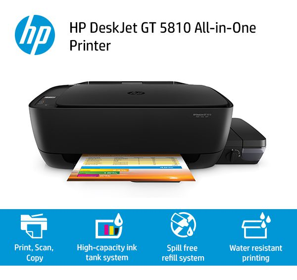 Hp Deskjet Gt 5810 Multi Function Print Scan Copy All In