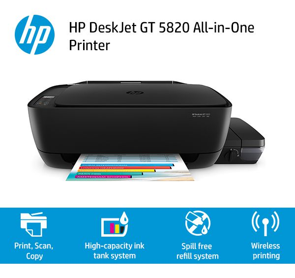 HP Deskjet GT 5820 Wireless Printer By Snapdeal @ Rs.11,989
