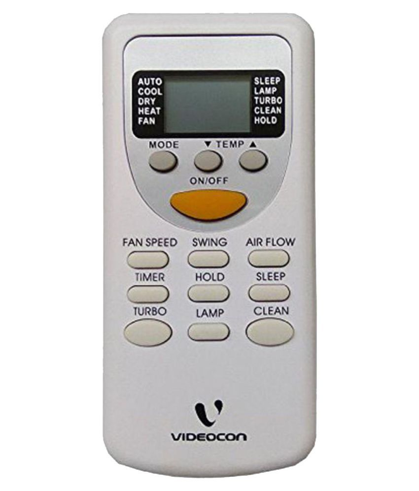 Videocon split AC Remote Compatible with videocon split ac