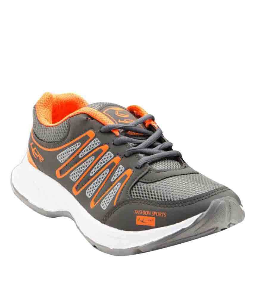 Lancer Hydra-4 Gray Running Shoes  available at snapdeal for Rs.399