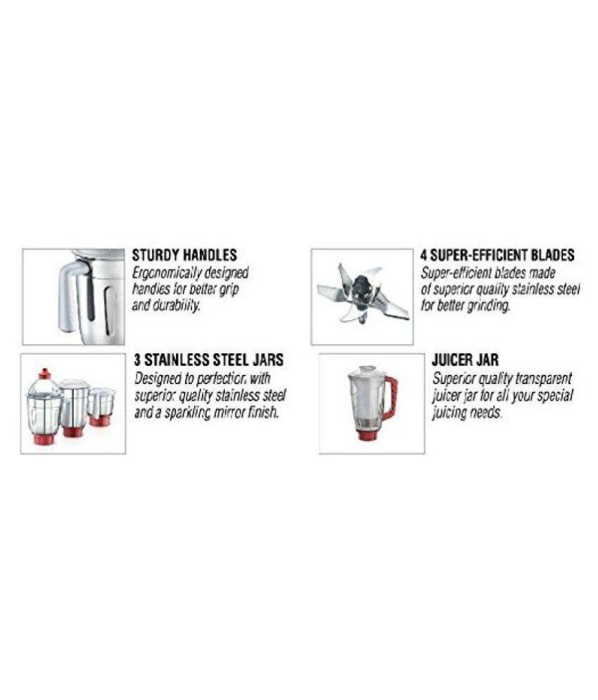 Prestige Elegant Mixer Grinder 750 W 4 Jar Mixer Grinder Price in