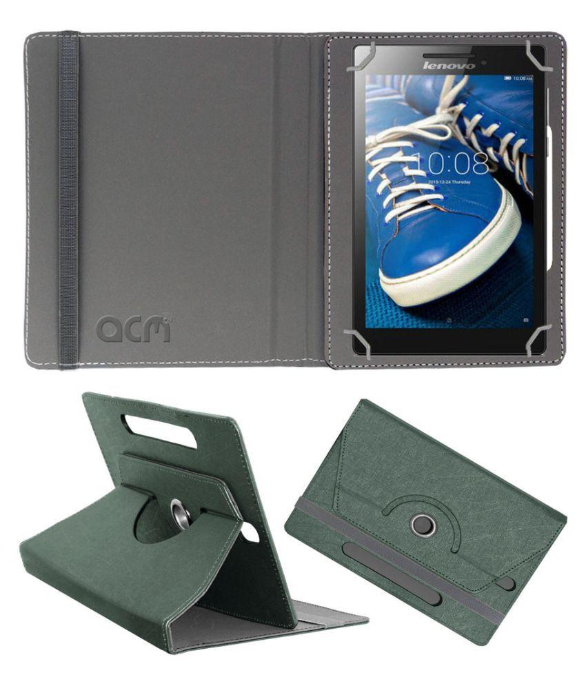 Lenovo Tab 2 A7-20 Flip Cover By Acm Black