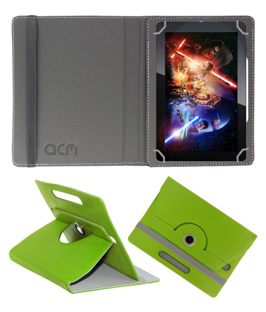 Fusion5 108 Flip Cover By ACM Green