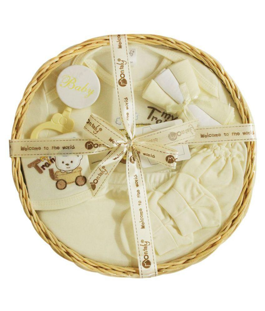 157a436a52c Montaly Cream Baby Gift Set  Buy Montaly Cream Baby Gift Set at Best Prices  in India - Snapdeal