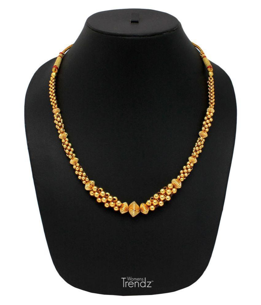 Womens Trendz Golden Alloy Necklace