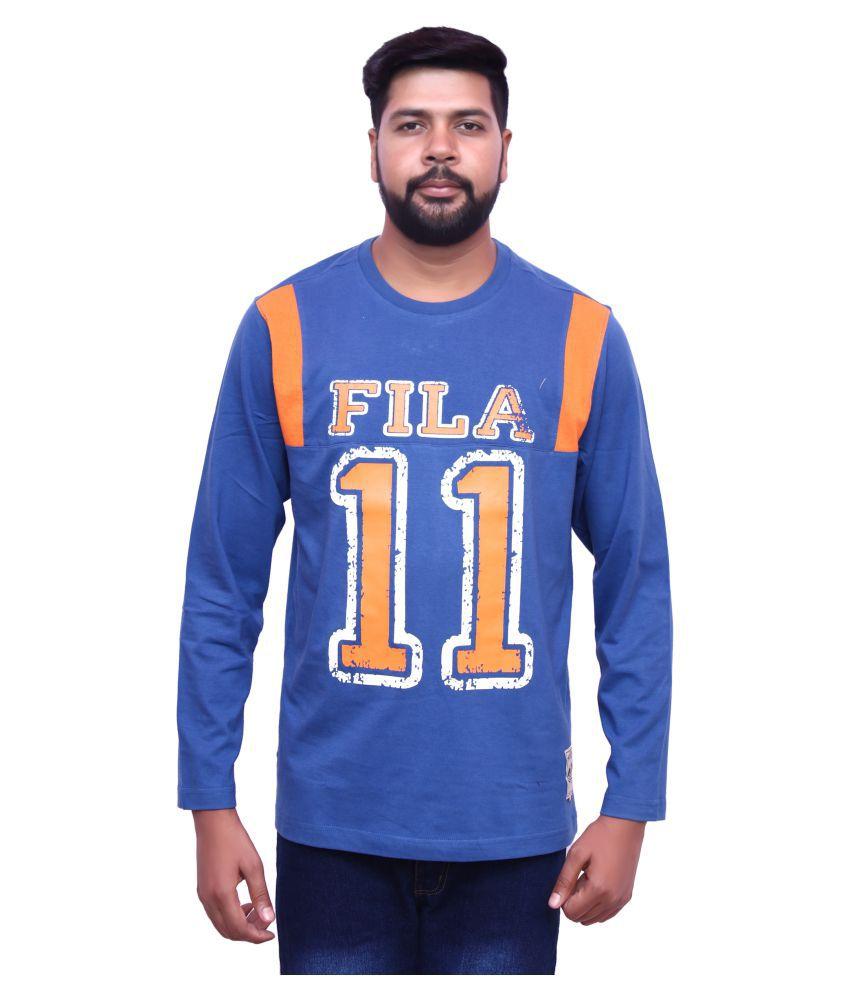 Fila Blue Round T-Shirt