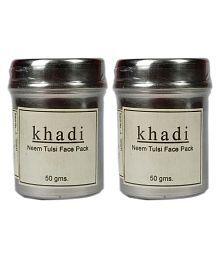 Khadi Herbal Neem Tulsi Face Peel Masks 50 Gm Pack Of 2