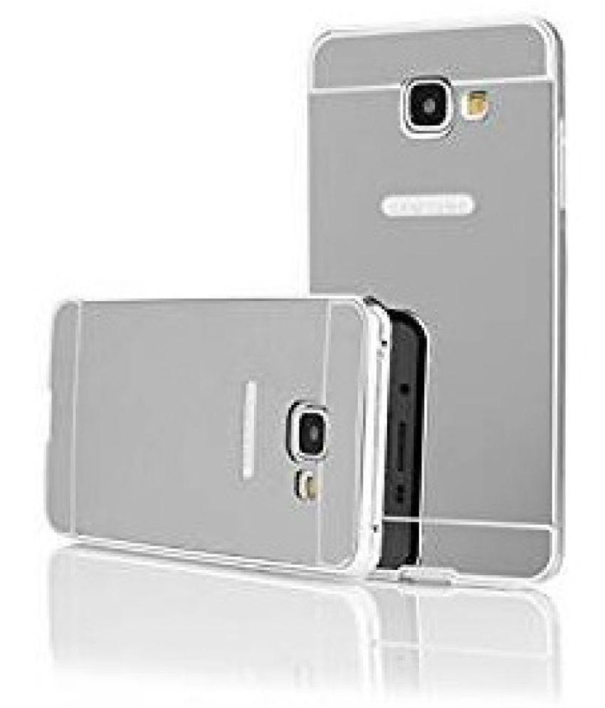 huge selection of 00c5b 6b0d8 Samsung Galaxy J7 Prime Cover by Micomy - Silver - Plain Back Covers ...