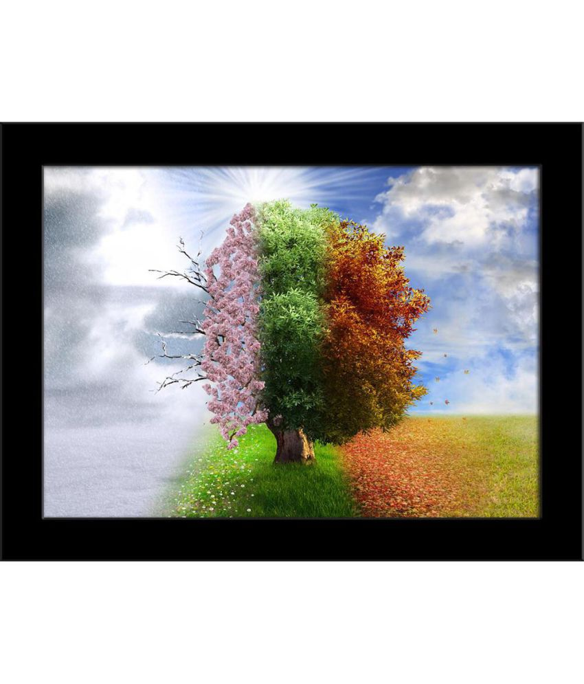 ArtzFolio Canvas Painting With Frame Single Piece