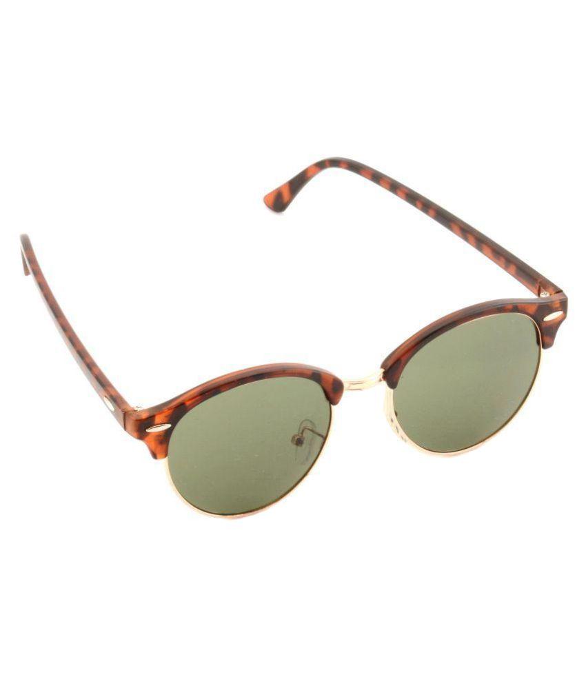 Siscko Green Clubmaster Sunglasses ( SE011 )